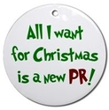 All I want for Christmas is a new PR!